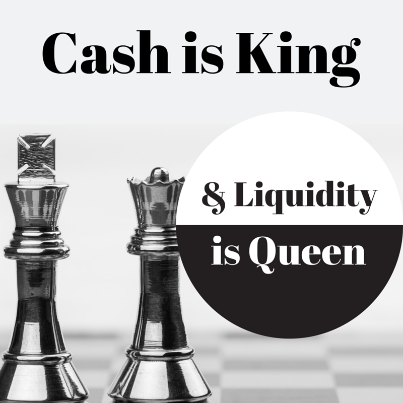 the importance of managing liquidity for The importance of cash flow is particularly pertinent at times when  liquidity ratio or acid test or  managing cash flow is a skill and only a firm grip on.